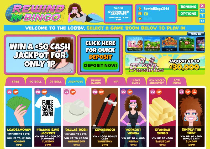 bingo-lobby
