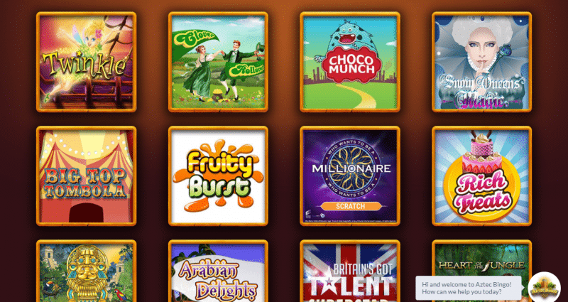 Slots game library