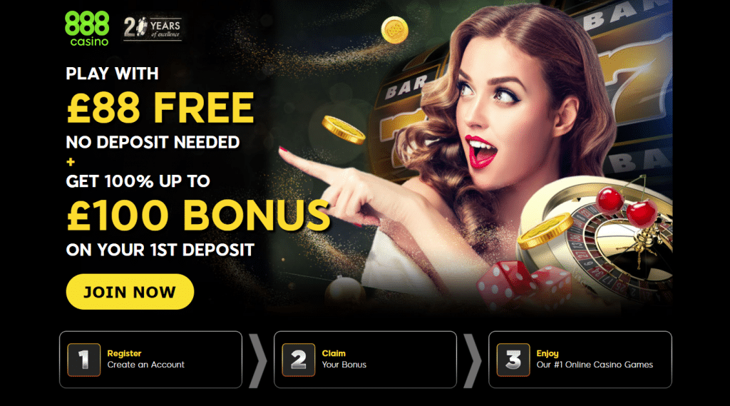 Free welcome bonus online casino