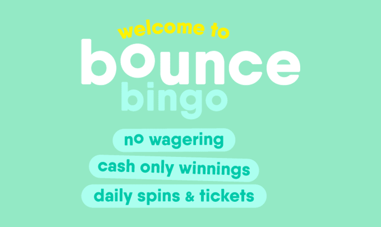 Bounce Bingo Get 105 Bonus Tickets 10 Free Spins Here